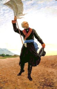 Fact Frenzy - Miguel Hidalgo y Costilla 1905 painting by Antonio Fabrés